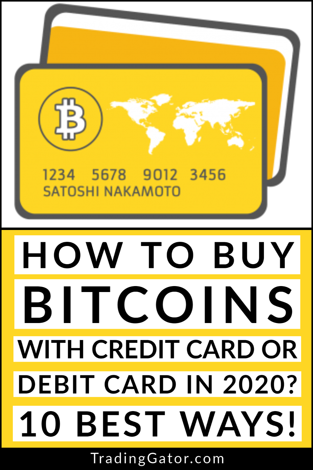 We Have Prepared This Guide On How To Buy Bitcoins With Credit Card Or Debit Card For You Take Look At The 10 In 2021 Debit Card Cryptocurrency Trading Online Broker