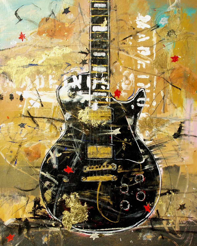 Guitarmusic related art guitar art art musical art
