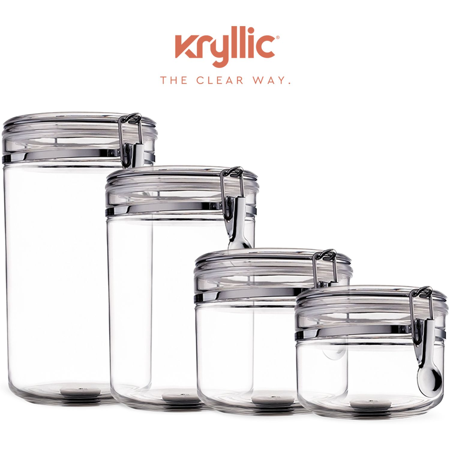 Canisters sets for the kitchen food storage containers