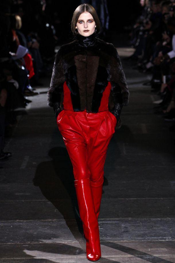 Leather Trend – 2012-2013 Autumn Winter; Dsquared; photo via style.com