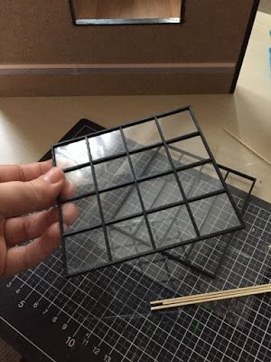 tutorial: custom miniature window #miniaturefurniture