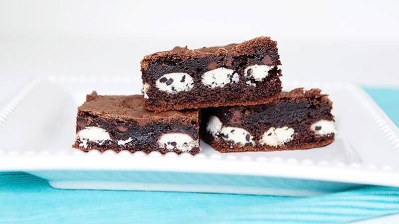 Cookies cream cake mix brownies cake mix brownies