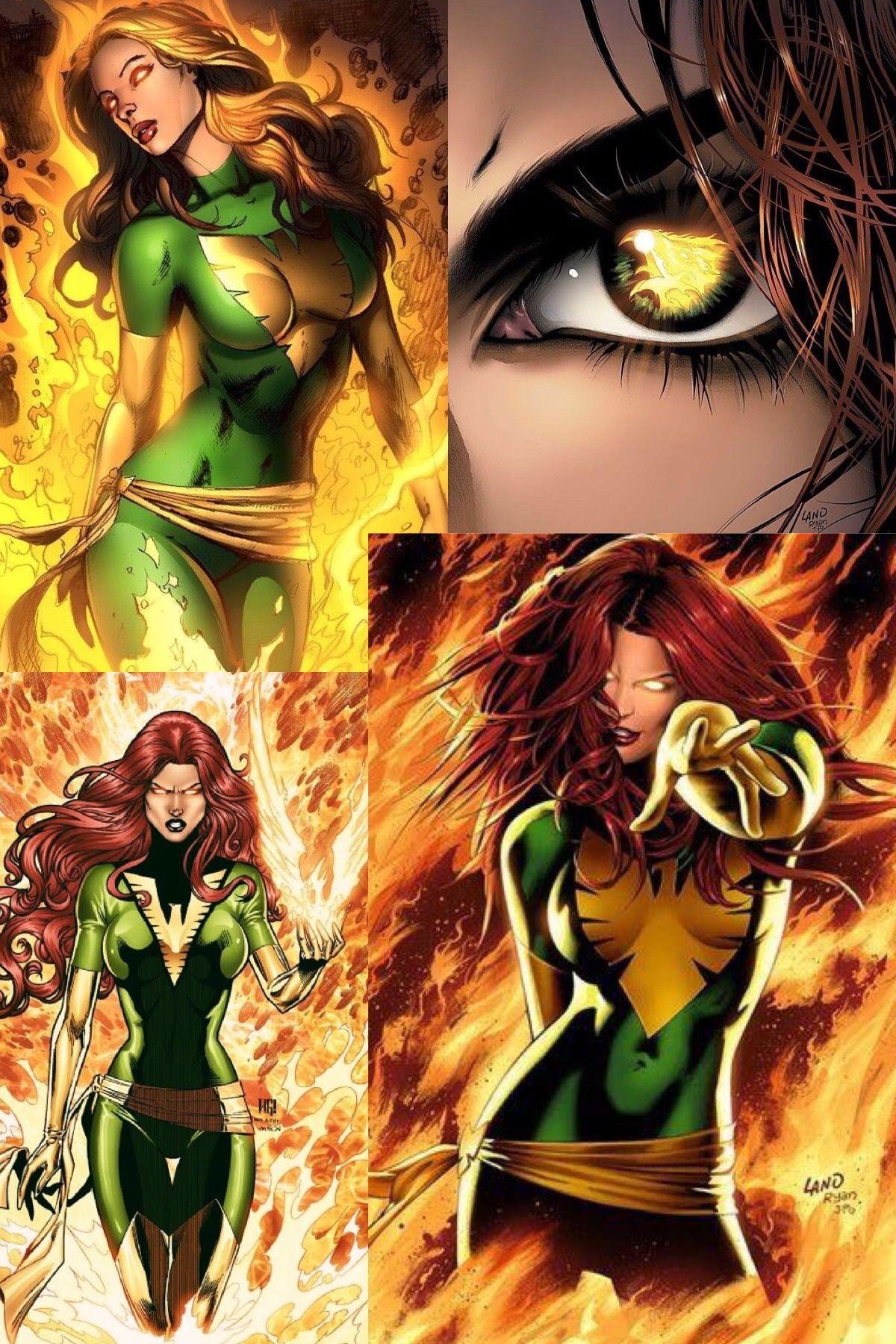 Green Phoenix Marvel Jean Grey Jean Grey Phoenix Marvel Comic Universe