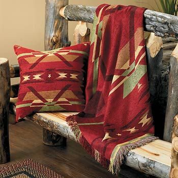 Southwestern Flame Throw Amp Pillow Wild Wings My Style