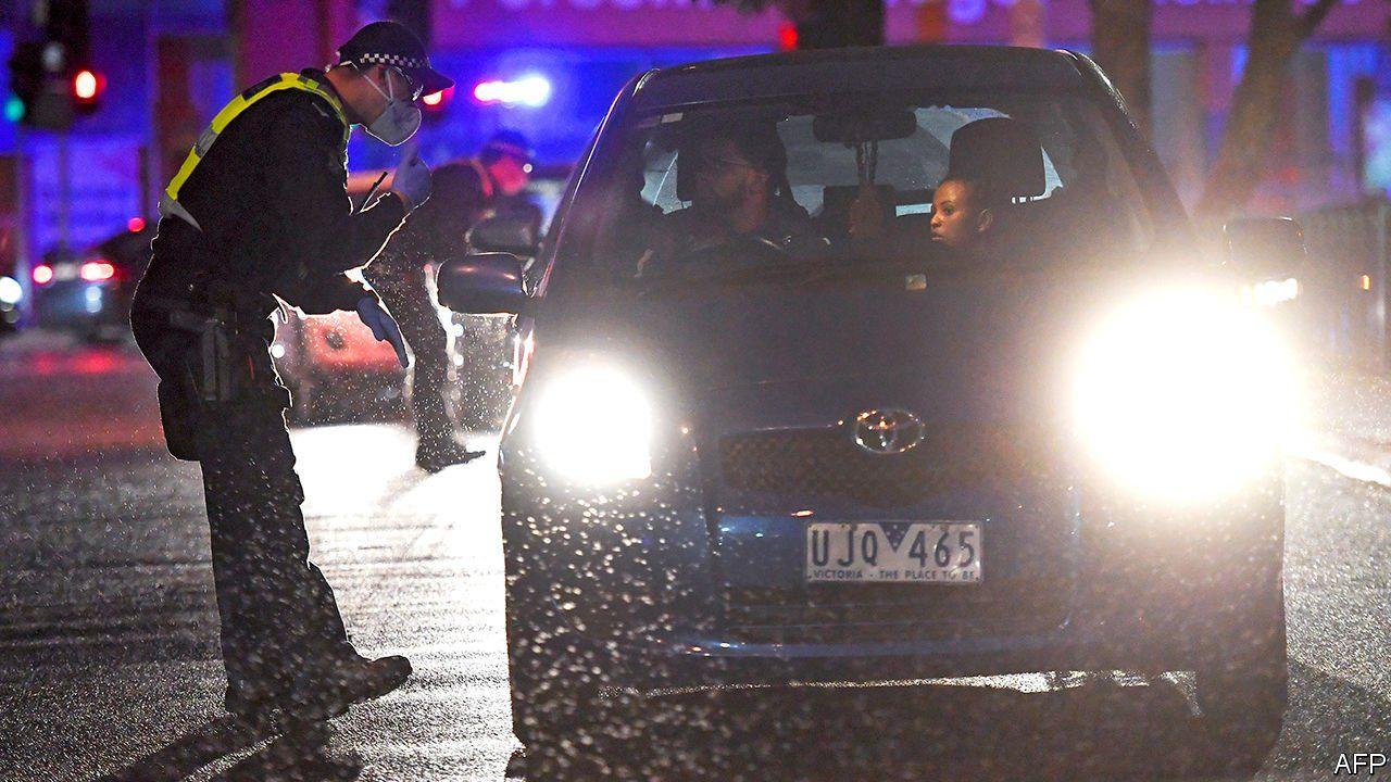 Australias second city faces a new wave of contagion Jul