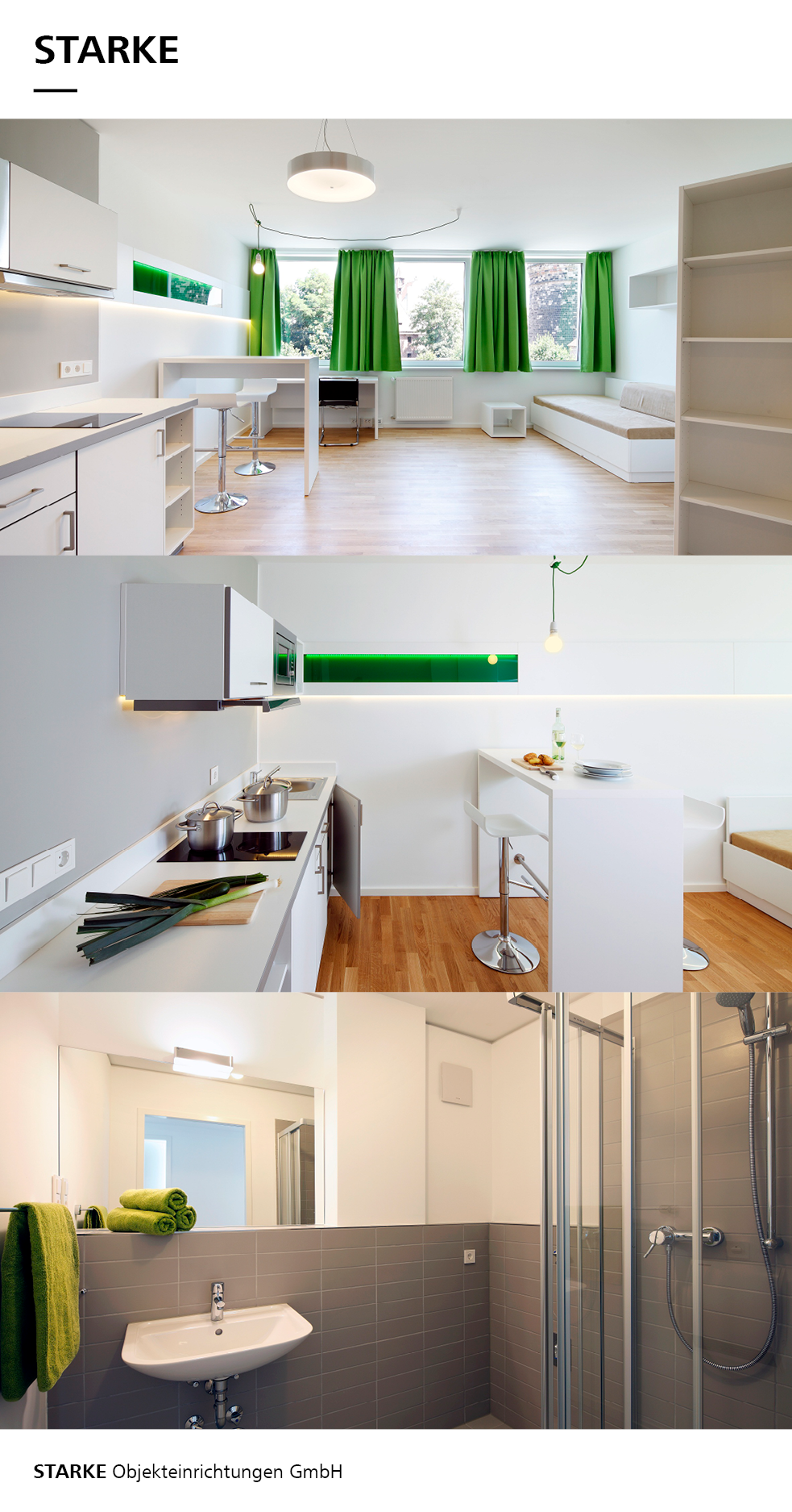 Micro Apartments | Micro Apartments - STARKE Objekteinrichtung ...