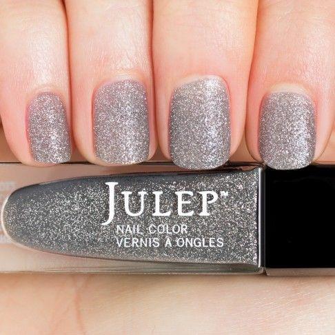 Graphite stardust (textured matte glitter) nail polish