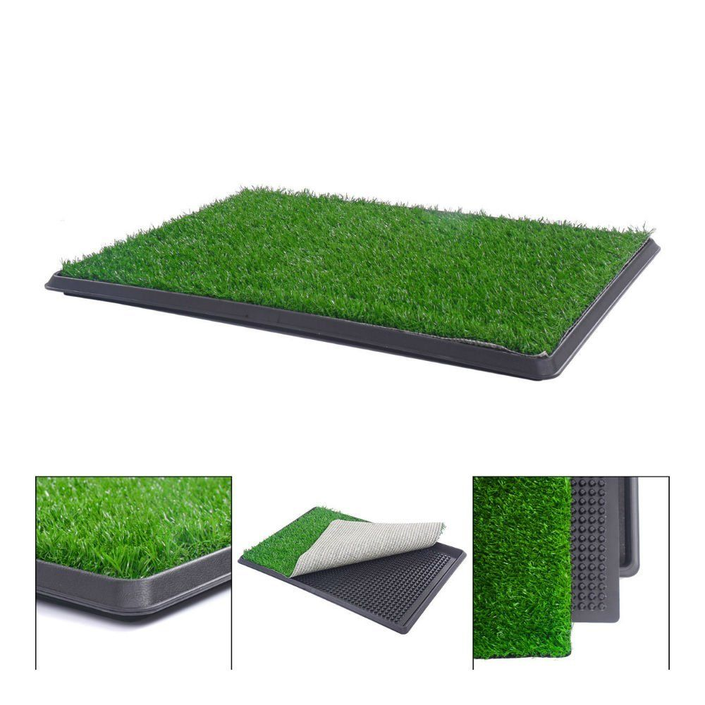 30 X20 Puppy Pet Potty Training Pee Indoor Toilet Dog Grass Pad Mat Turf Patch See This Great Product This Is An Affil Dog Potty Pet Grass Dog Potty Pad
