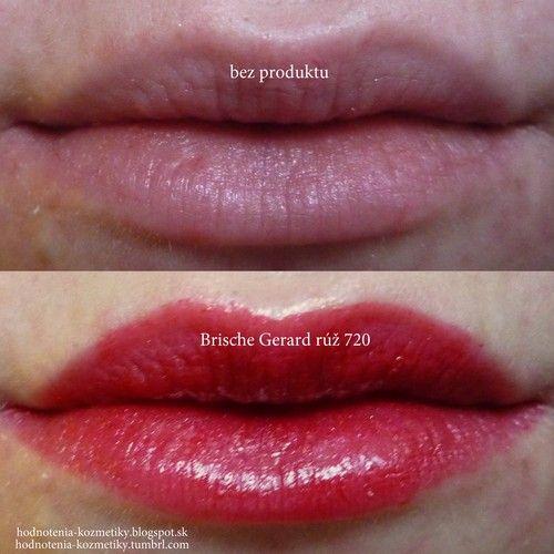 Brische Cosmetics: GERARD rúž na pery