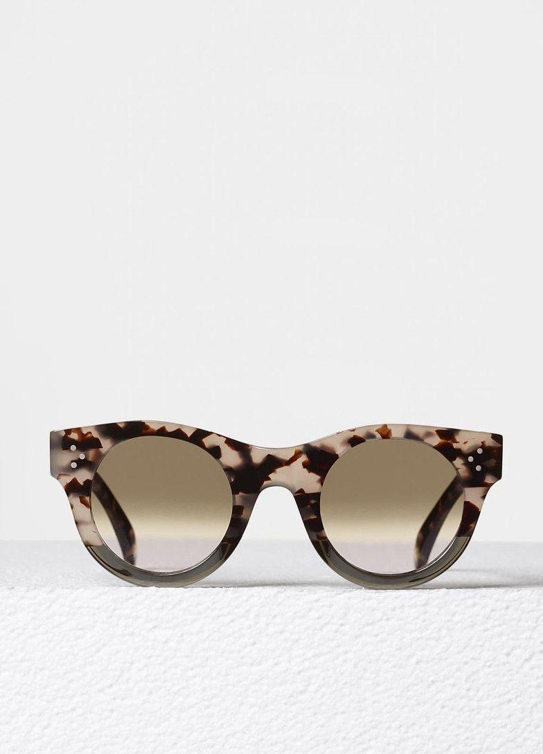 5fa348e50a102 Alia Sunglasses in Acetate - Céline
