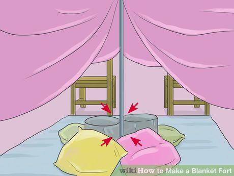 Make A Blanket Fort Blanket Fort Sleepover Fort Diy Blanket Fort