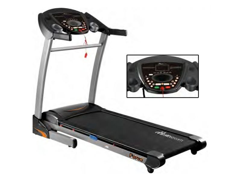 Healthstream Force 2.5hp Treadmill  The Force has a large 145cm x 50cm running surface ensuring maximum safety and comfort no matter what speed you are training at. To keep your training interesting, the Force has 30 pre-set programs plus Heart Rate Control featuring speed, incline and speed and incline combined.   For more info visit: http://www.gymandfitness.com.au/healthstream-force-2-5hp-treadmill.html