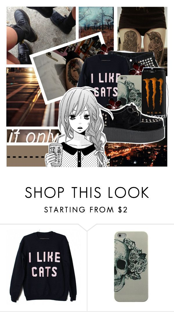 Love Feels Like War by amberishdead on Polyvore featuring Levi's and INDIE HAIR