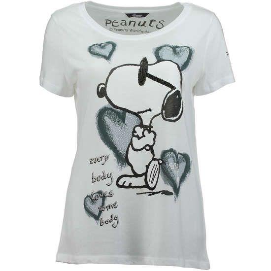 Princess Goes Hollywood T Shirt Mit Snoopy Print Das T Shirt Peanuts Von Princess Goes Hollywood Ist Mit Seinem Snoopy Print Ein Hingucker Der Mit Ziersteine