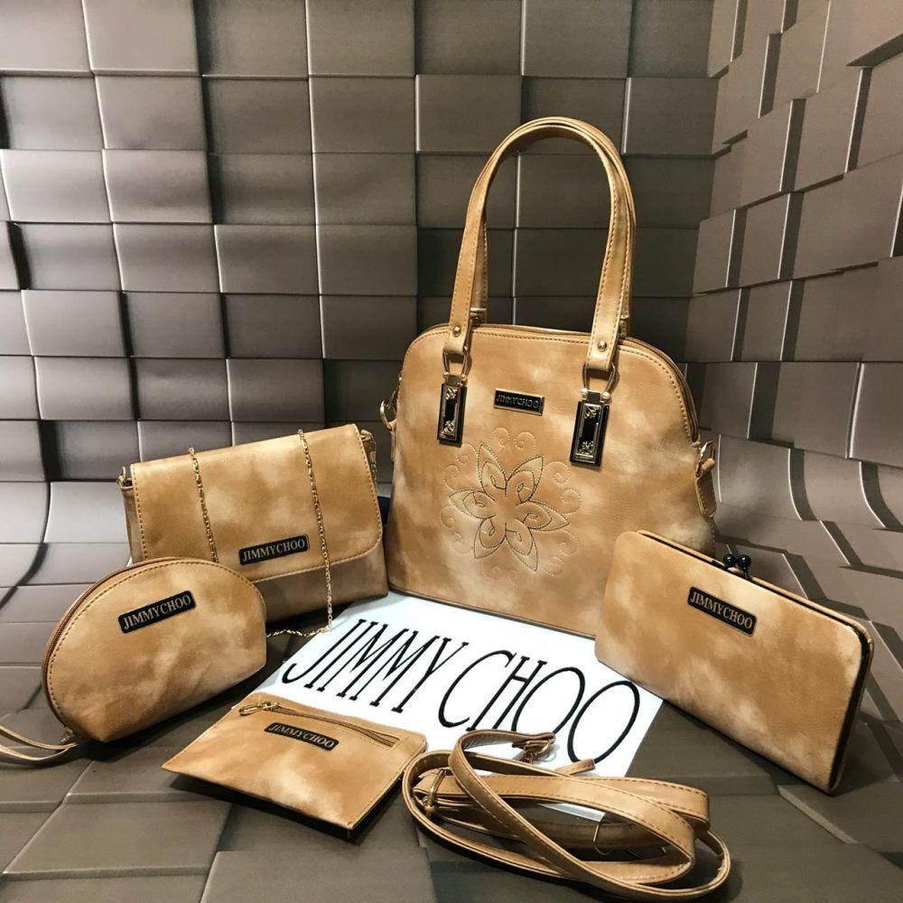 3dd856911b6a JIMMY CHOO 5 Piece Bucket Bag ComBo Jimmy Choo bucket bag combo ?