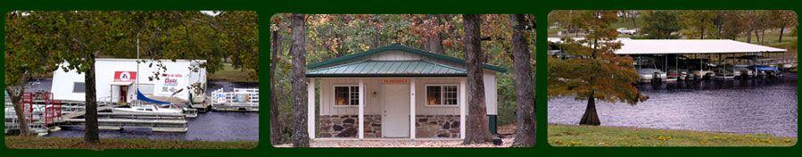 Sequoyah Bay Marina Cabins Oklahoma Travel Cabin Fort Gibson