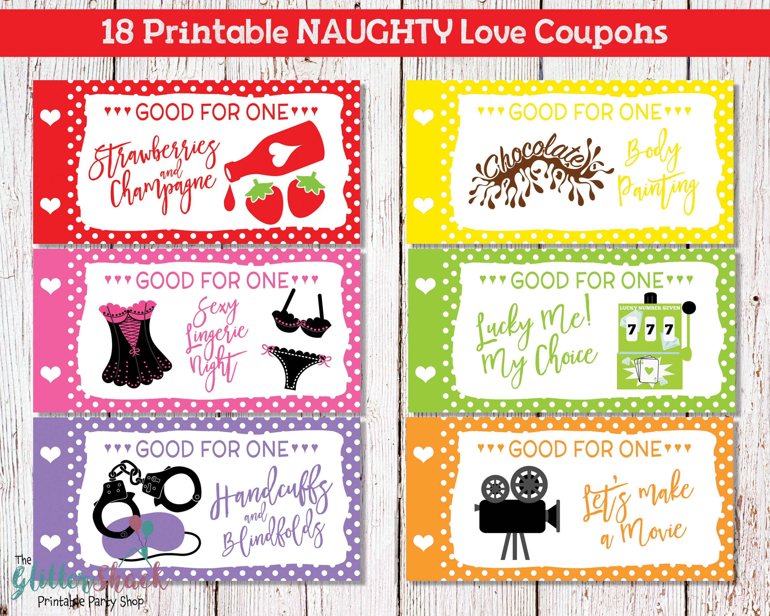 Printable naughty love coupons for men husband boyfriend for Coupons for my boyfriend