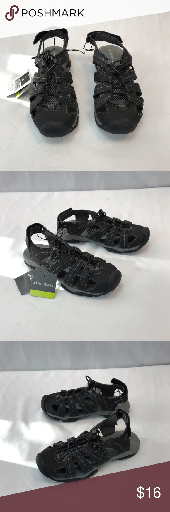 28797e917907 Eddie Bauer youth bump toe sandals Eddie Bauer bump toe sandals Chris Youth  Eddie Bauer Shoes Sandals   Flip Flops