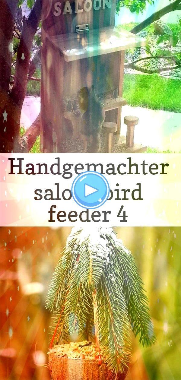 bird feeder 4 Handgemachter Saloon Bird Feeder Vogelhaus  praktische Tipps  schöne Modelle vogelhäuser als dekoideenHandgemachter Saloon Bird Feeder Vogelhaus...
