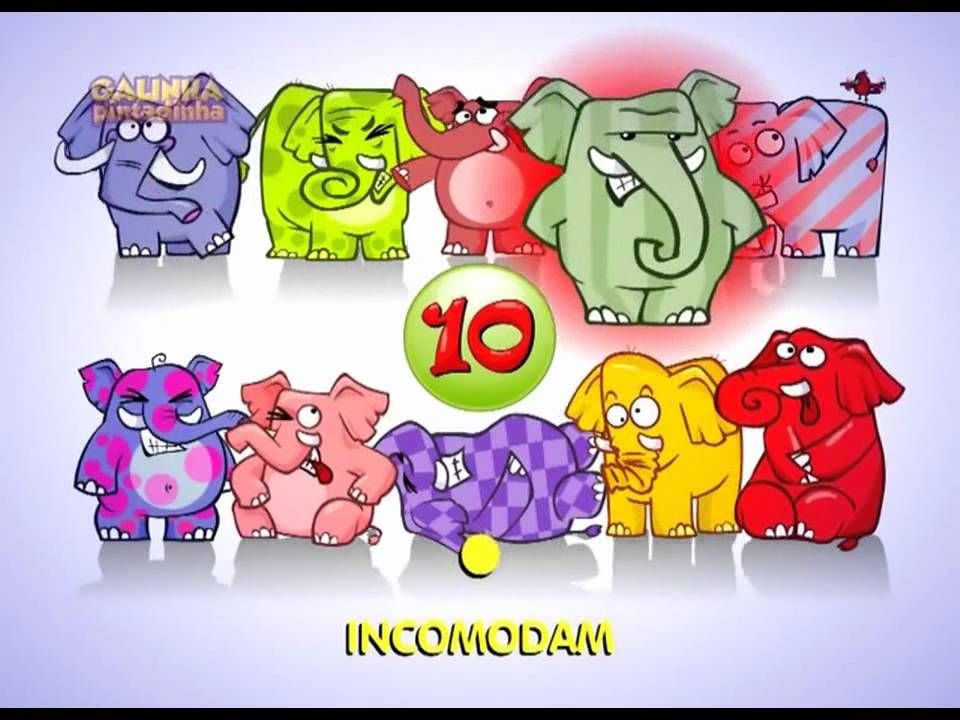 Galinha Pintadinha - O Elefante - Videoclip infantil animado do DVD