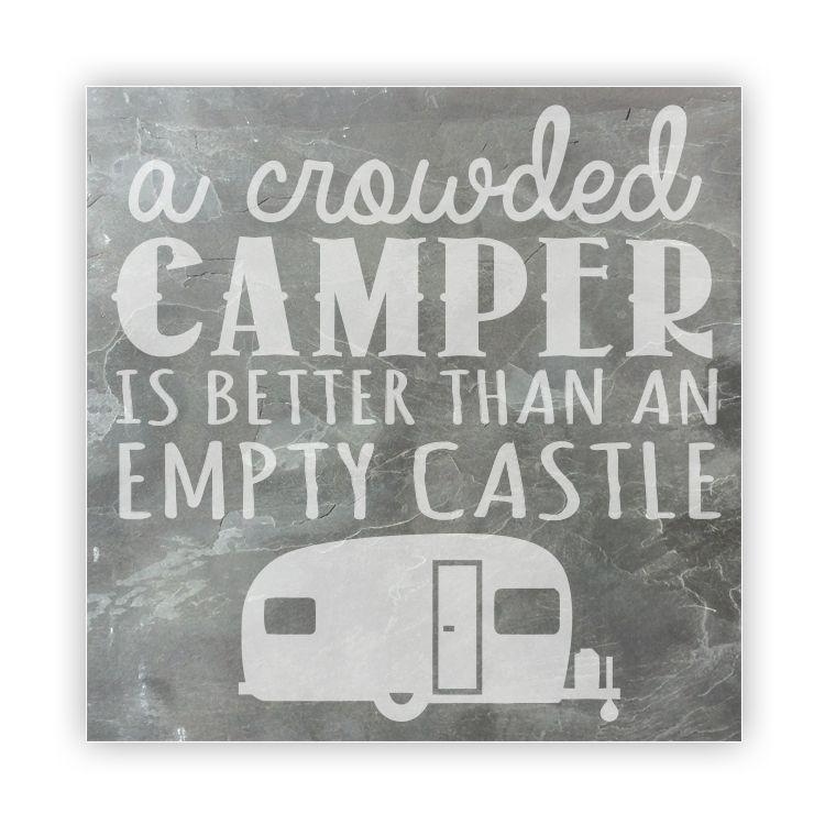 tile large slate a crowded camper is better than an empty castle - Slate Castle Ideas