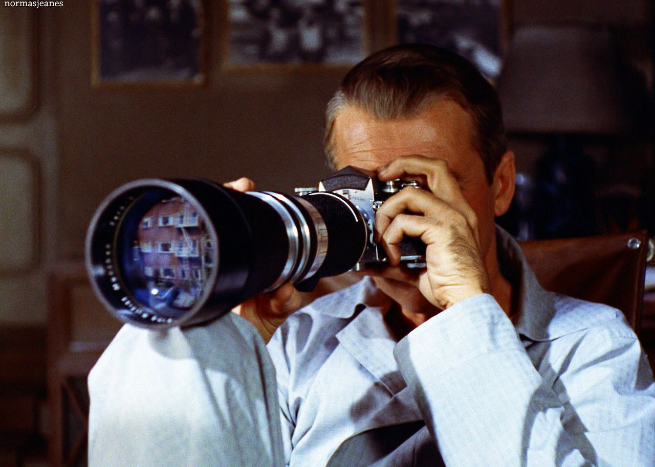 Rear Window, 1954. Movies in color, Movie color palette
