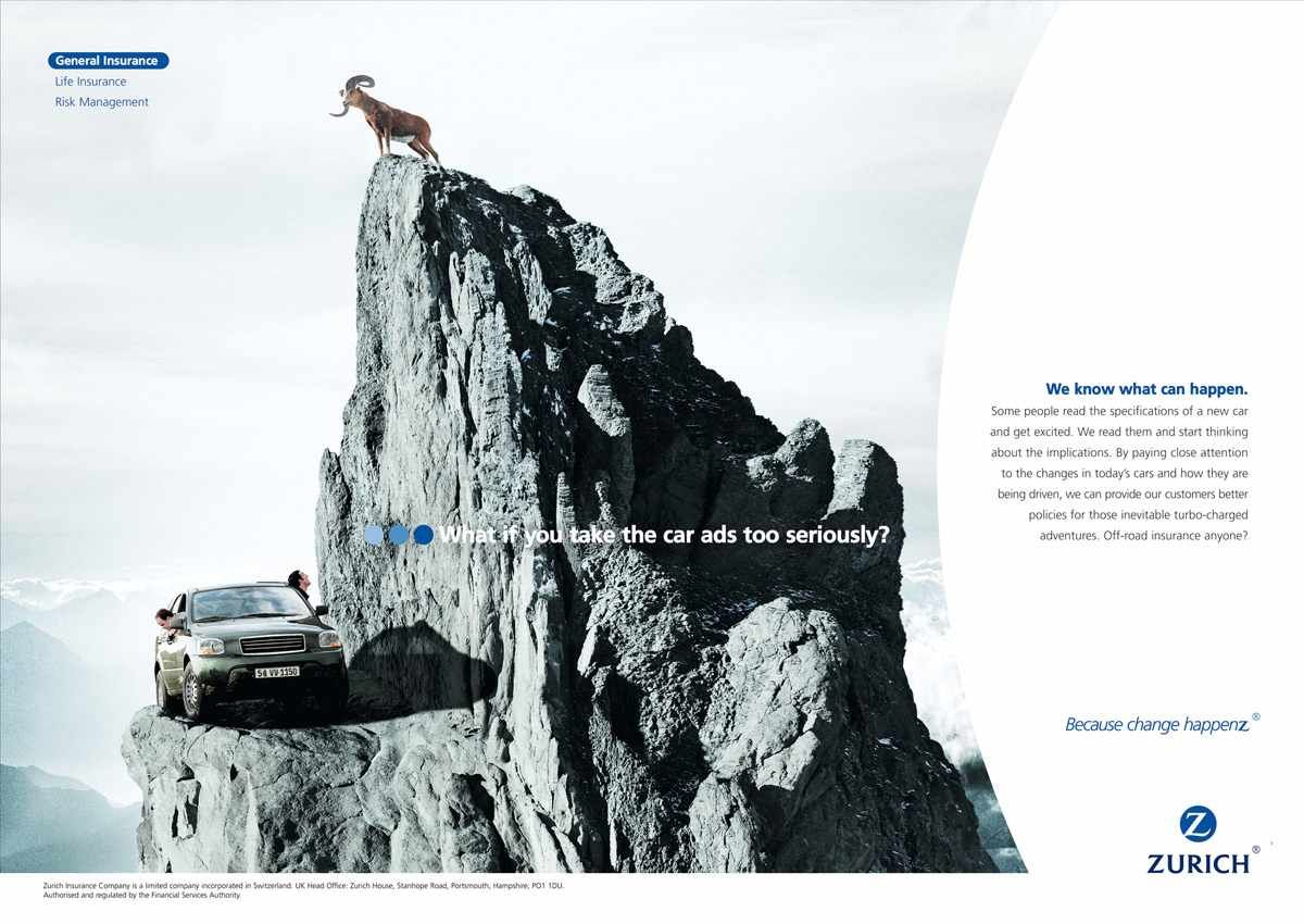 Zurich Insurance Mountain In 2020 Zurich Insurance Advertising