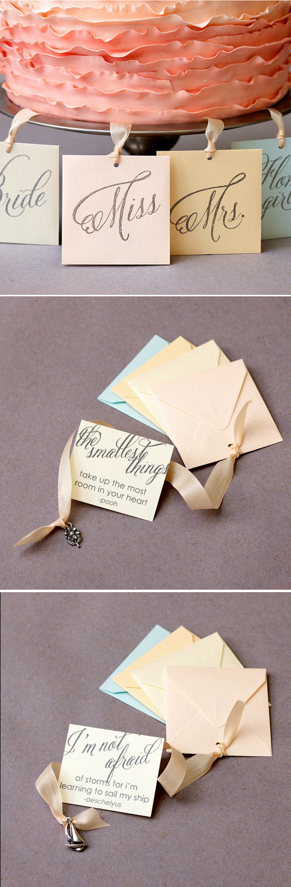 ♥ bridesmaids luncheon game  charm pull! Always wanted this at a bridal shower or bridesmaid luncheon. possible idea.