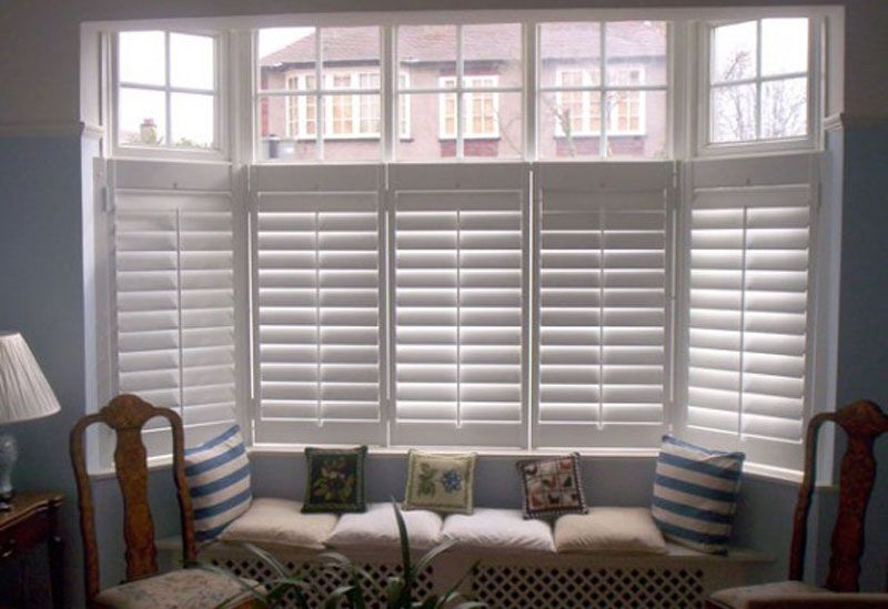 Classic Faux Wood Shutters In 2019 Cafe Style Shutters