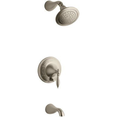 Kohler Finial Rite Temp Pressure Balancing Bath And Shower Faucet