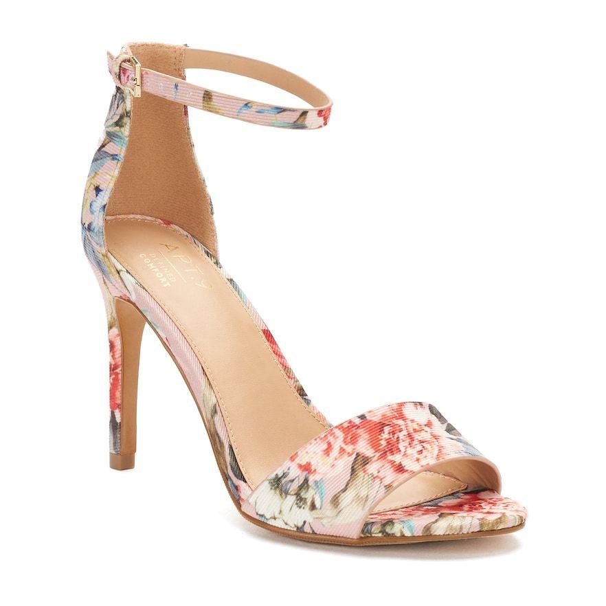 Apt. 9® Prosper Women s High Heel Sandals  b960e614e