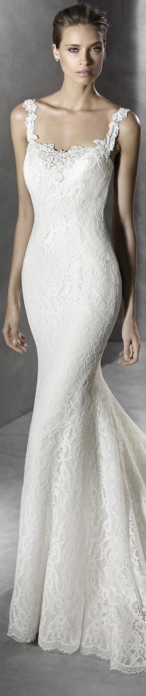 PRONOVIAS BRIDAL GOWNS 2016 PRUVA WEDDING DRESS