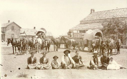 Early Settlers At Fort Concho San Angelo Texas San Angelo