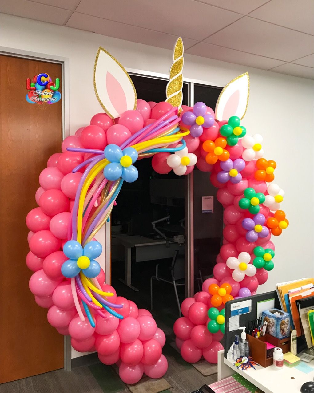 Pin by LCJ Balloons on Unicorn Birthday balloon