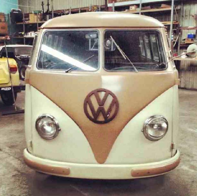 1954 Barndoor Under Restoration At Crown Restoration Phoenix Az Vw Van Vw Bus Vintage Vans