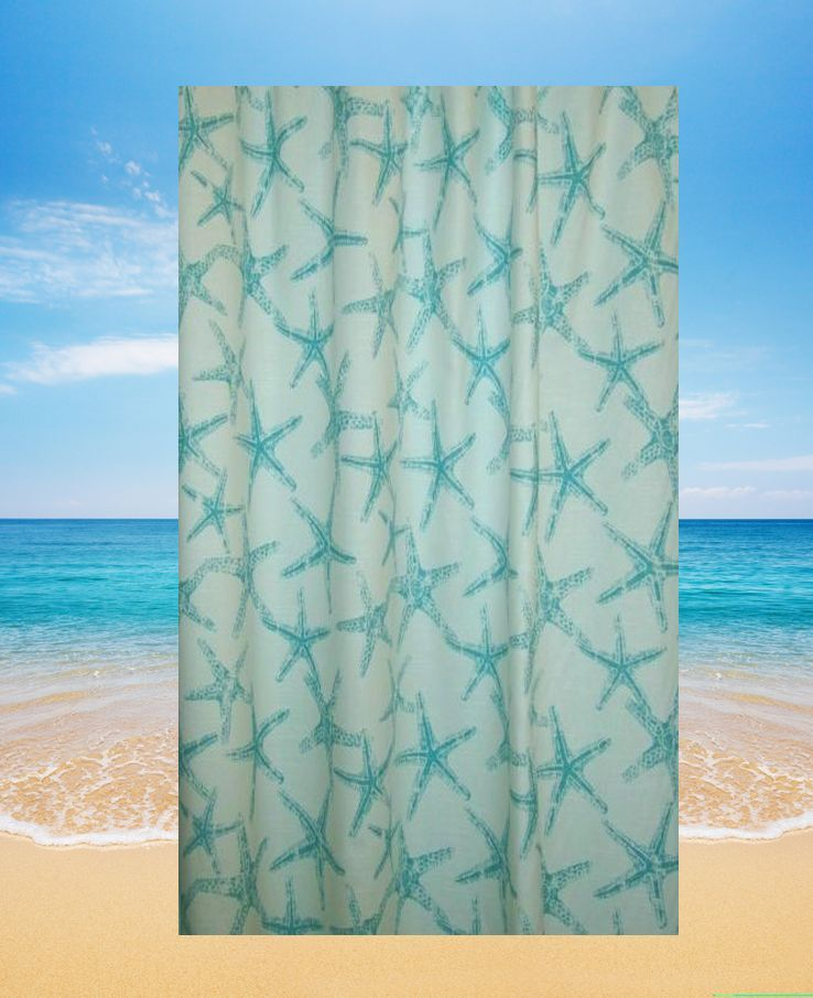 cheap themed curtain uk inspired curtains shower decor bathroom beach