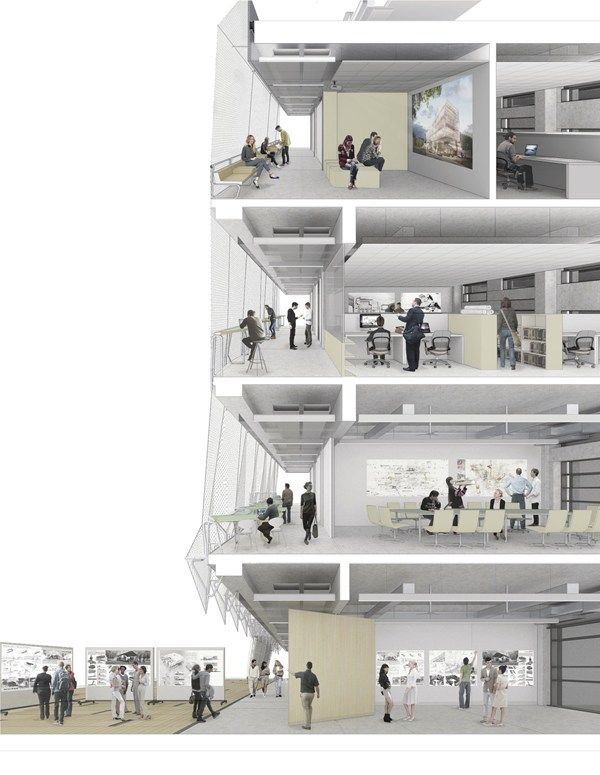 Faculty Of Architecture Building Planning University Of Melbourne Perspective Envelopes