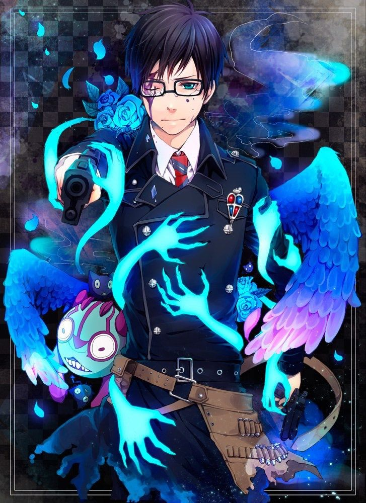 Pin by Hannah on Blue Exorcist Blue exorcist anime