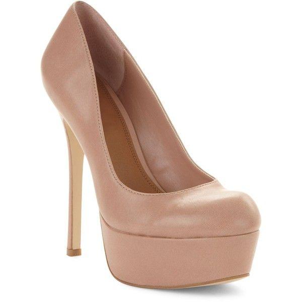 Steve Madden Women's Shoes, Allyy-L Platform Pumps ($65) ❤ liked on Polyvore