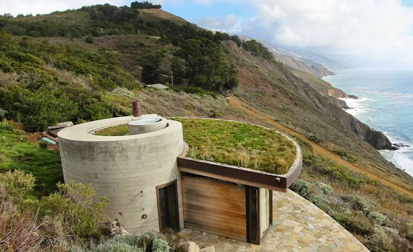 Seaside House Designs, buried into the hillside | Dwelling Gems ...