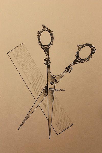 Scissors & Comb - Ofatalee