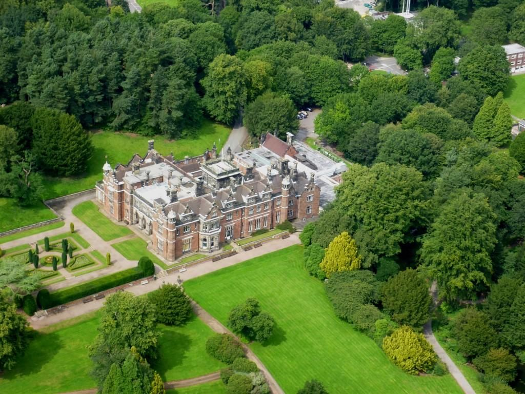 Victorian Foyer University : Keele hall be it ever so humble there s no place like