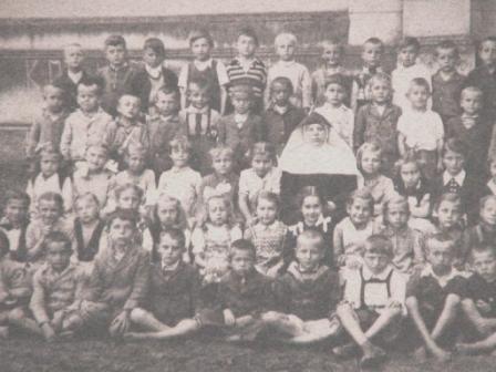 Sister Olga in Makó-Újváros  in the fourties years