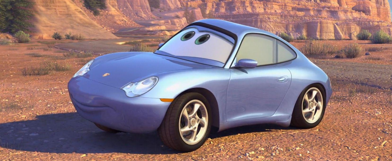 """996 Carrera 2002 """"Sally Carrera"""" in the movie CARS (2006) (con ..."""