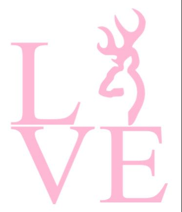Love Browning Car / Truck Decal by MelissasVinylDesigns on Etsy