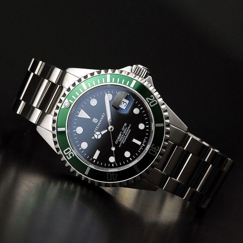 Ocean 1 green diving watches steinhart watches - Oceanic dive watch ...