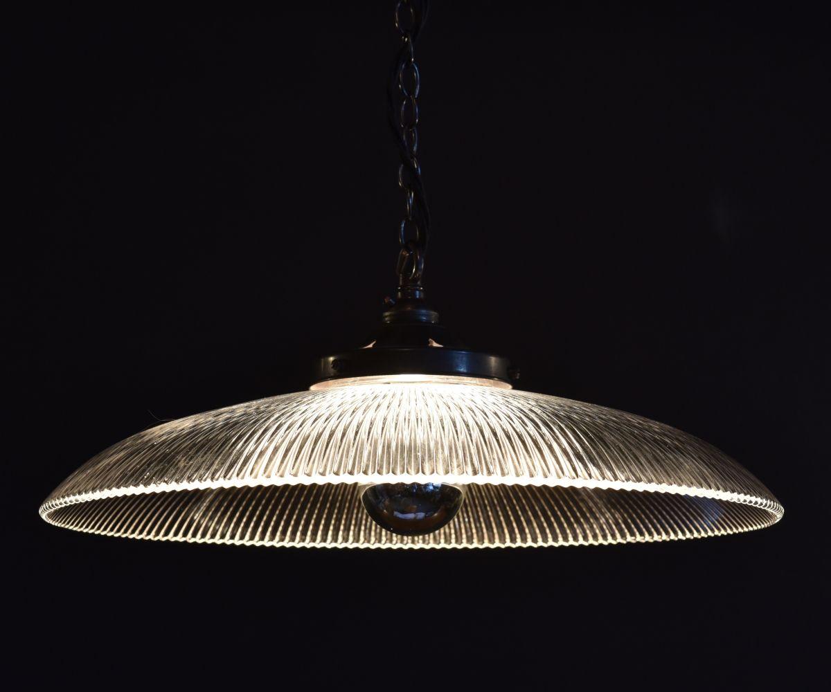 Light fixtures · lights · antique holophane pagoda shade 16 40 5 cm diameter haes co uk