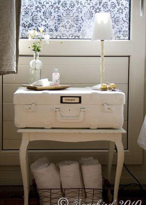 table de chevet 30 id es de table de nuit en r cup diy tables de chevet pinterest bedrooms. Black Bedroom Furniture Sets. Home Design Ideas