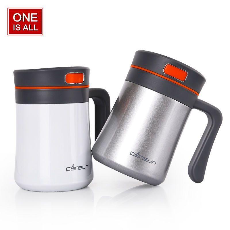 Thermobecher//Isolierbecher 360ml Travel Mug hält 4h heiß// 8h kalt 100/% dicht