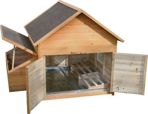 ABRI EN BOIS MULTI-USAGE POUR VOLAILLES | Fabrication nid pour ...